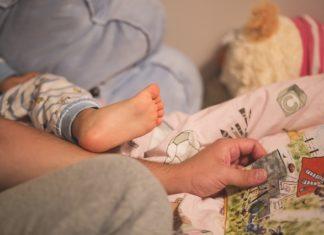 pokój dla chłopca niemowlaka
